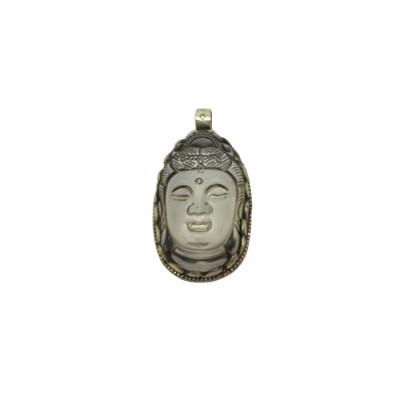Crystal Buddha Pendant