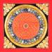 Om Mani Padme Hum Mandala Thangka with Ashta Mangala