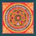 Mandala with Om Mani Padme Hum (Ashta Mangala)
